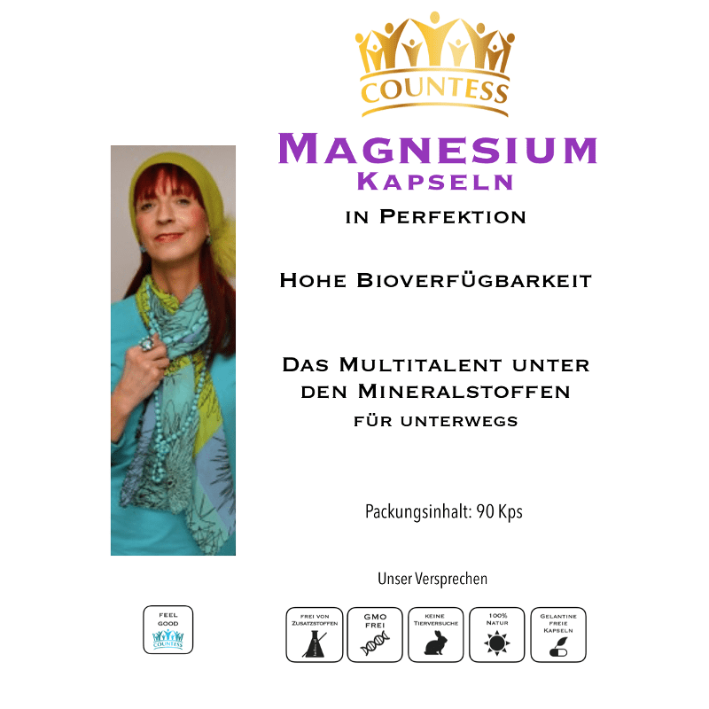 Magnesium-Kapseln 90Stk