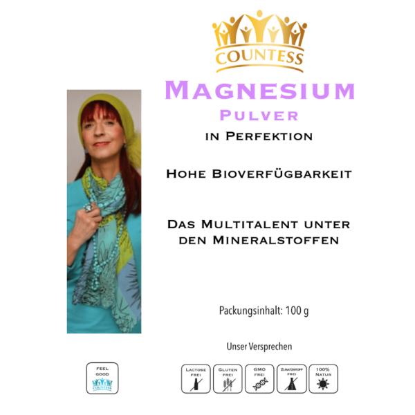 Magnesium-Pulver 100g